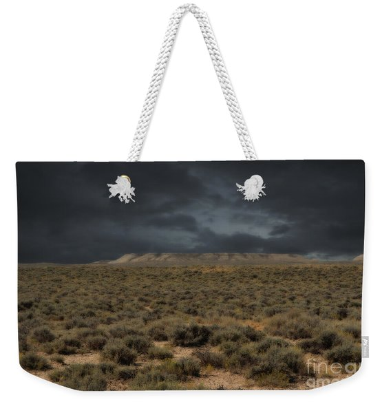 Midnight On The Pairie In Wyoming Weekender Tote Bag