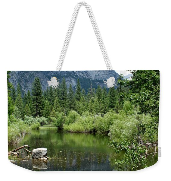 Mirror Lake Weekender Tote Bag