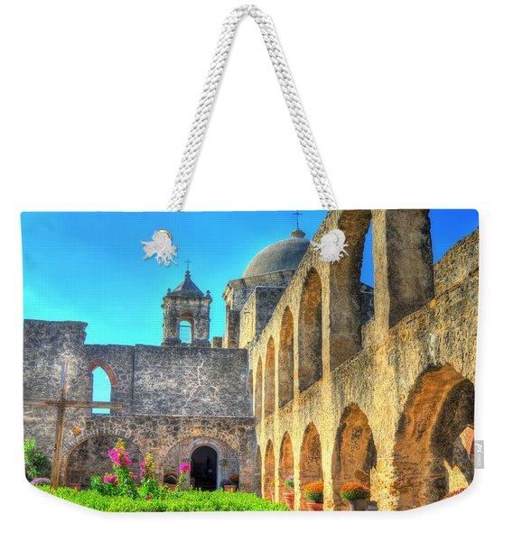 Mission Courtyard Weekender Tote Bag