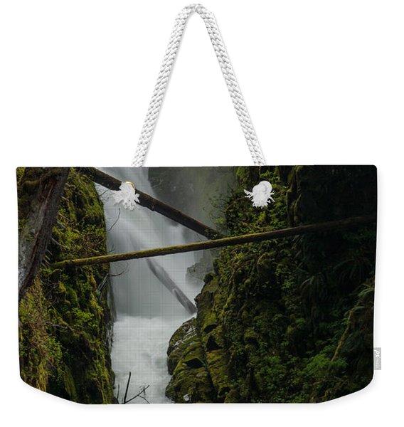 Misty Torrent Weekender Tote Bag
