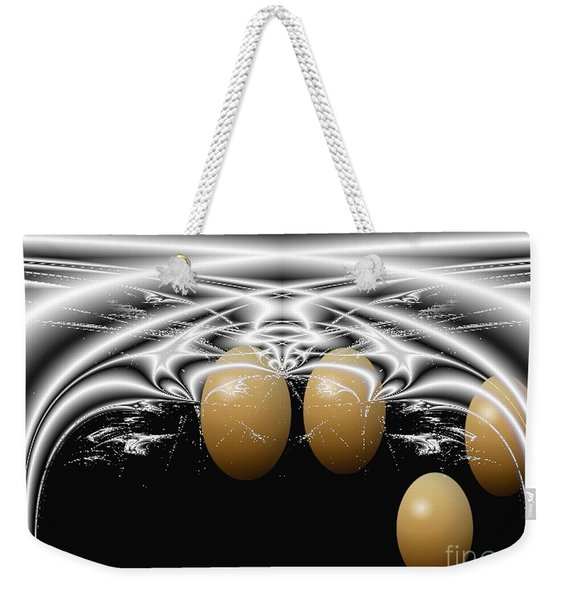 Birth Of Quadruplets, From The Serie Mystica Weekender Tote Bag