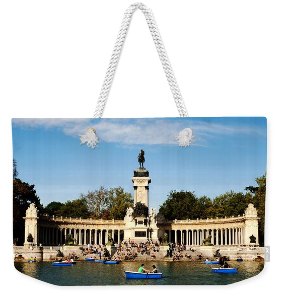 Monument To Alfonso Xii Weekender Tote Bag