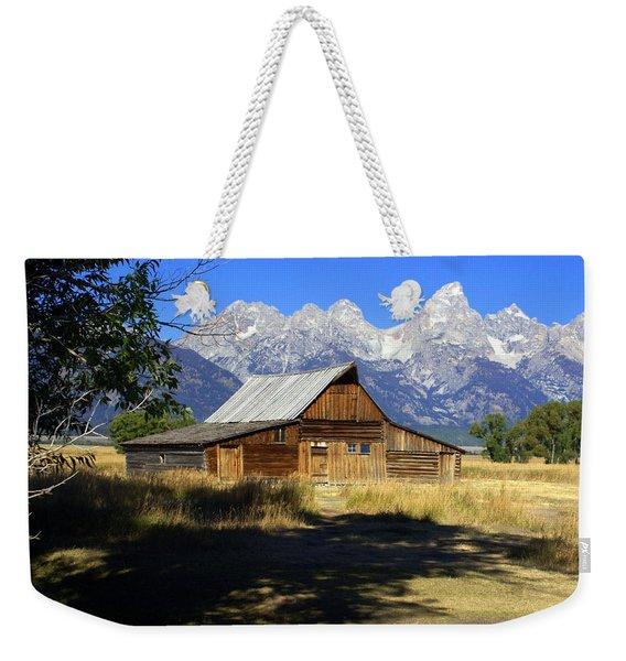 Mormon Row Barn Weekender Tote Bag