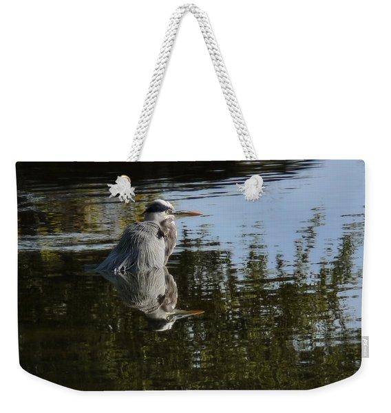 Morning Bath Weekender Tote Bag