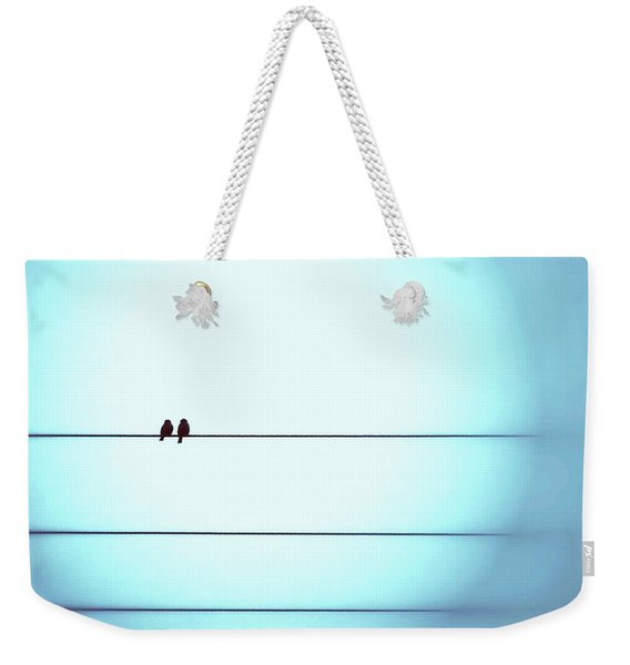 Morning Hopes  Weekender Tote Bag