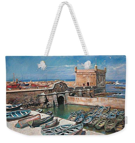 Morocco Weekender Tote Bag