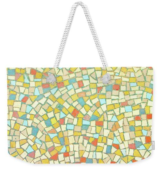 Mosaic Background Weekender Tote Bag