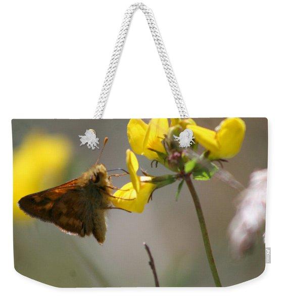 Moth Life Weekender Tote Bag