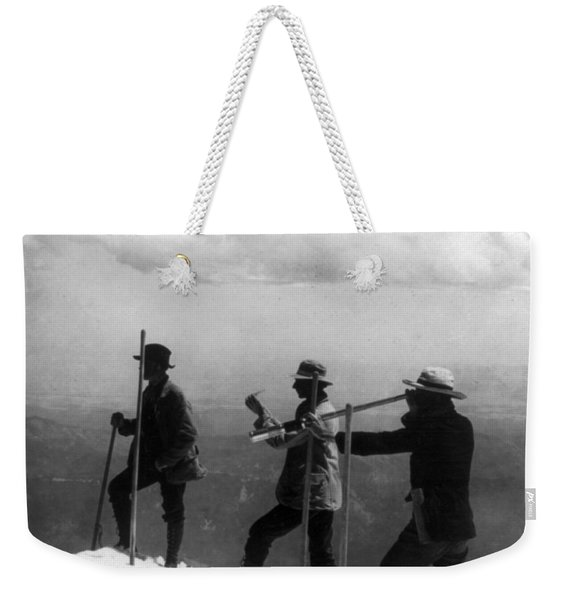 Mount Hood Summit - C 1904 Weekender Tote Bag