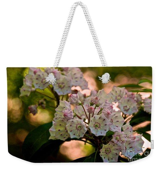 Mountain Laurel Flowers 2 Weekender Tote Bag