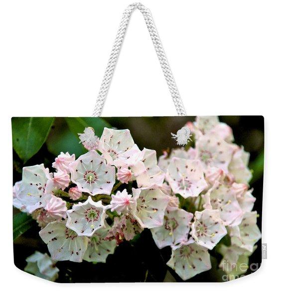 Mountain Laurel Flowers Weekender Tote Bag