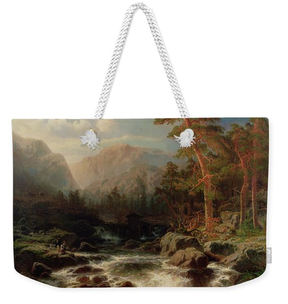 Mountain Torrent Smaland Weekender Tote Bag