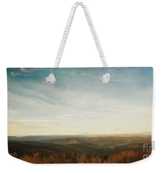 Mountains As Far As The Eye Can See Weekender Tote Bag