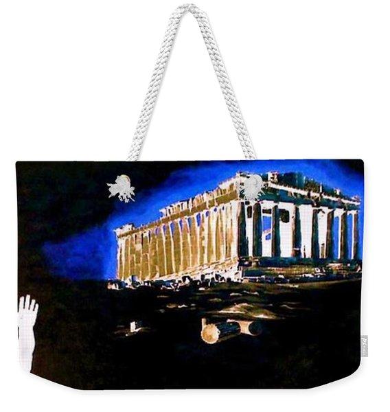 Mural - Night Weekender Tote Bag