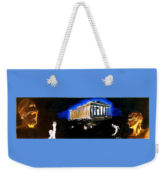 Mural - Night Weekender Tote Bag
