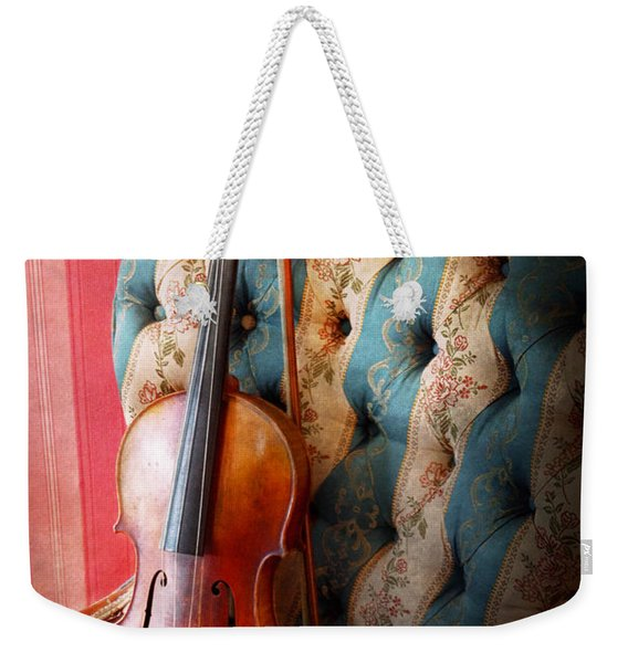 Music - Violin - Musical Elegance  Weekender Tote Bag