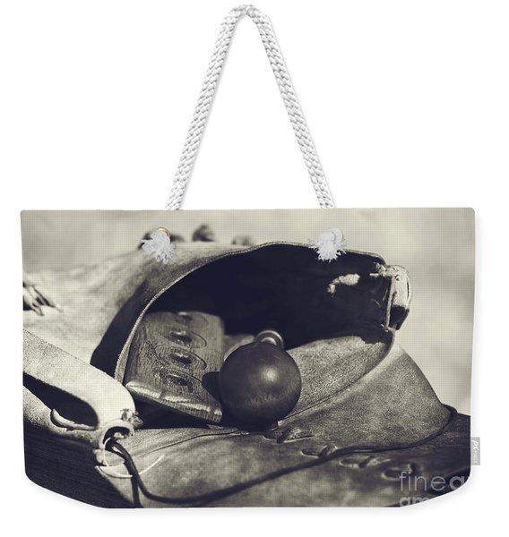 Muzzle Loader's Tools Weekender Tote Bag