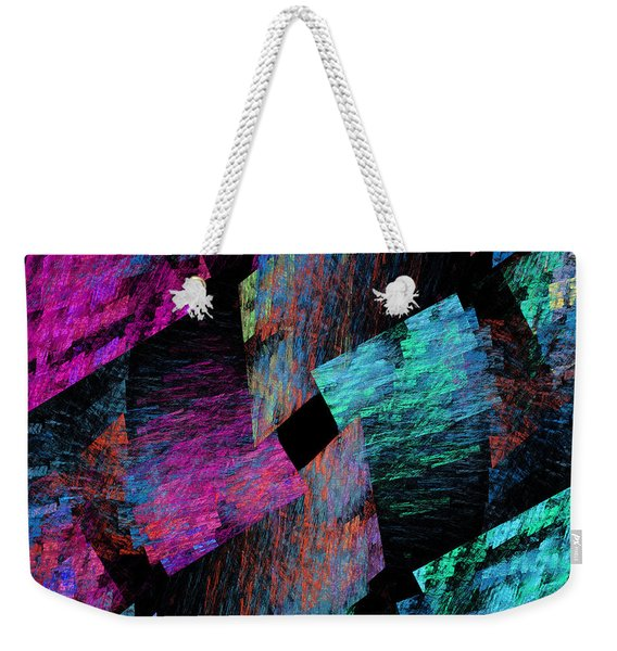 Native Quilt Abstract Weekender Tote Bag