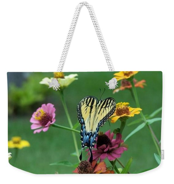 Weekender Tote Bag featuring the photograph Nature by Cynthia Amaral