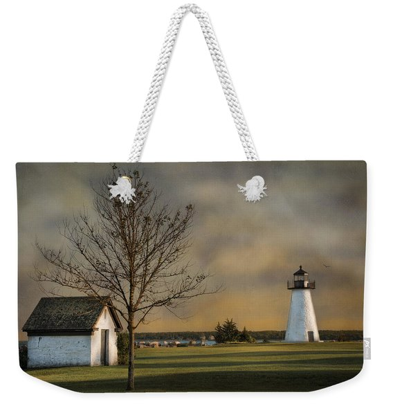 Ned's Point Light Weekender Tote Bag
