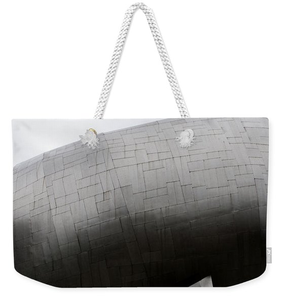 Weekender Tote Bag featuring the photograph Needle In The Whale by Lorraine Devon Wilke