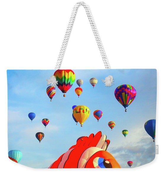 Nemo Blowing Bubbles Weekender Tote Bag