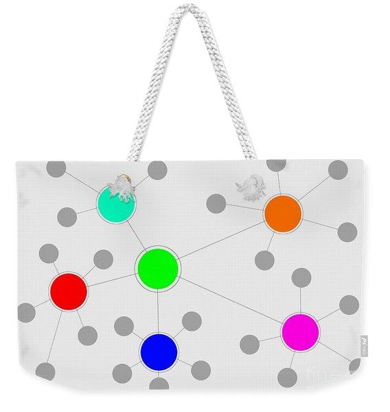 Network Weekender Tote Bag