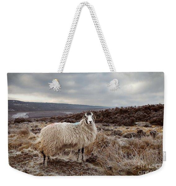 North York Moors Sheep Weekender Tote Bag