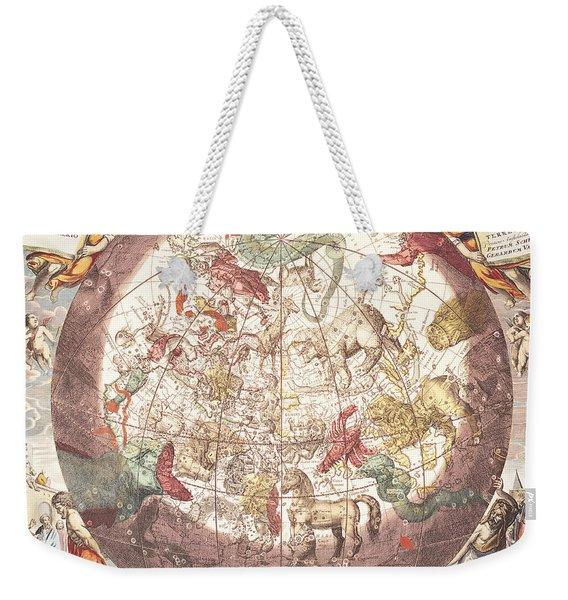 Northern Boreal Hemisphere From The Celestial Atlas Weekender Tote Bag