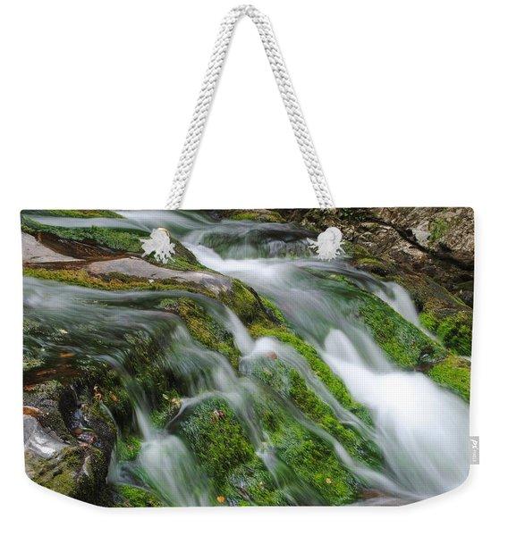 Northern Falls Weekender Tote Bag