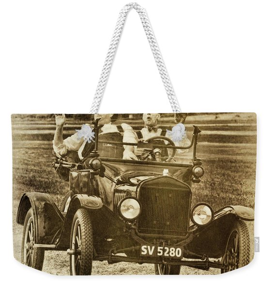 Not Likely Laurel And Hardly Hardy Weekender Tote Bag