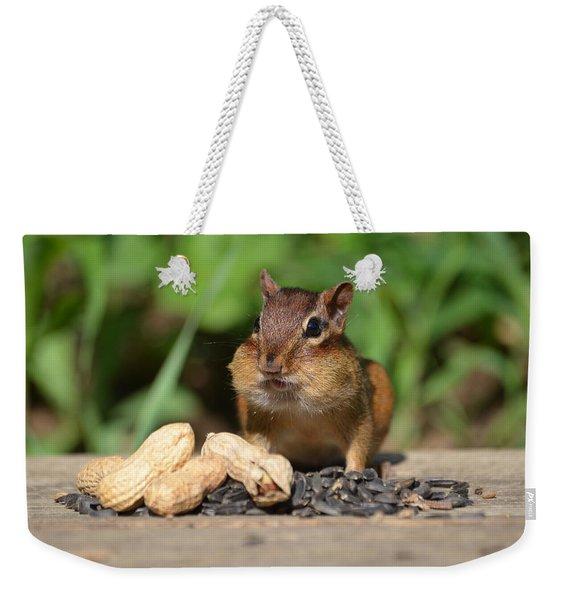 Now This Is A Breakfast Weekender Tote Bag