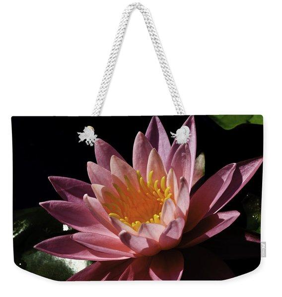 Nymphaea 'sunny Pink' Weekender Tote Bag