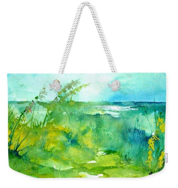 Ocean And Shore Weekender Tote Bag