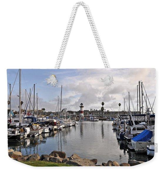 Oceaside Harbor Weekender Tote Bag