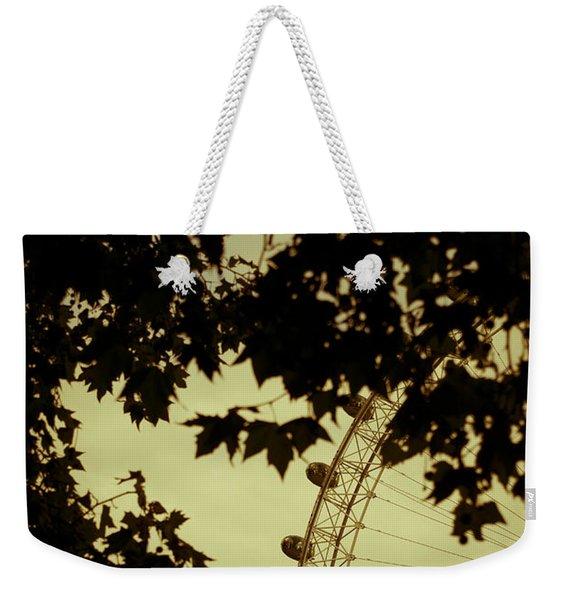 October Mist Weekender Tote Bag