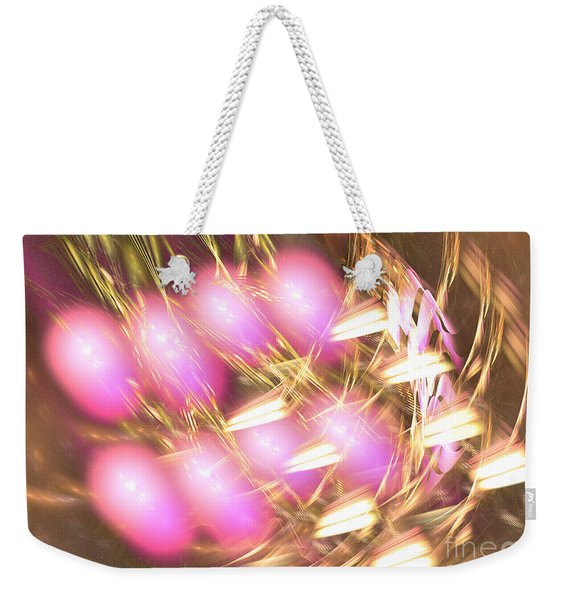 Offspring - Abstract Art Weekender Tote Bag