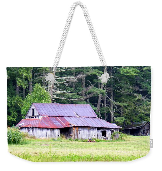 Old Barn Near Cashiers Nc Weekender Tote Bag