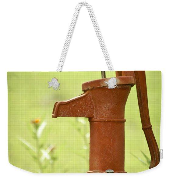 Old Fashioned Water Pump Weekender Tote Bag