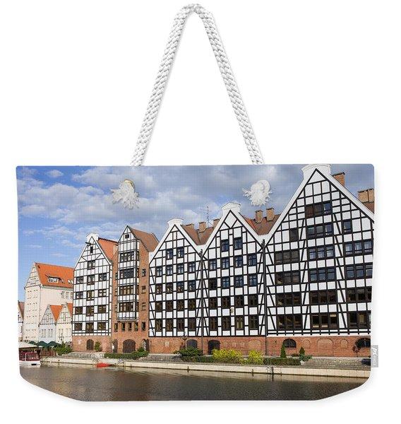 Old Granaries In Gdansk Weekender Tote Bag