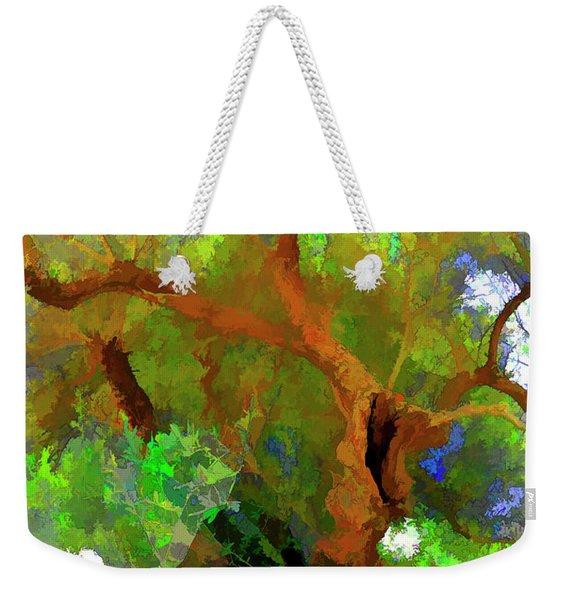 Old Olive Tree 03 Weekender Tote Bag
