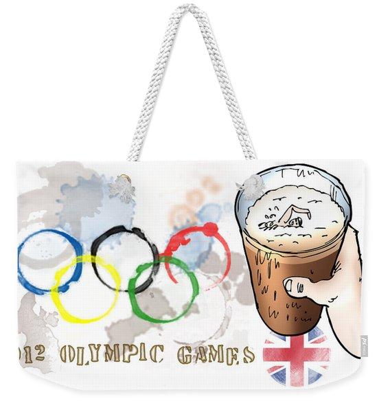 Olympic Rings Weekender Tote Bag