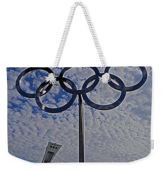 Olympic Stadium Montreal Weekender Tote Bag