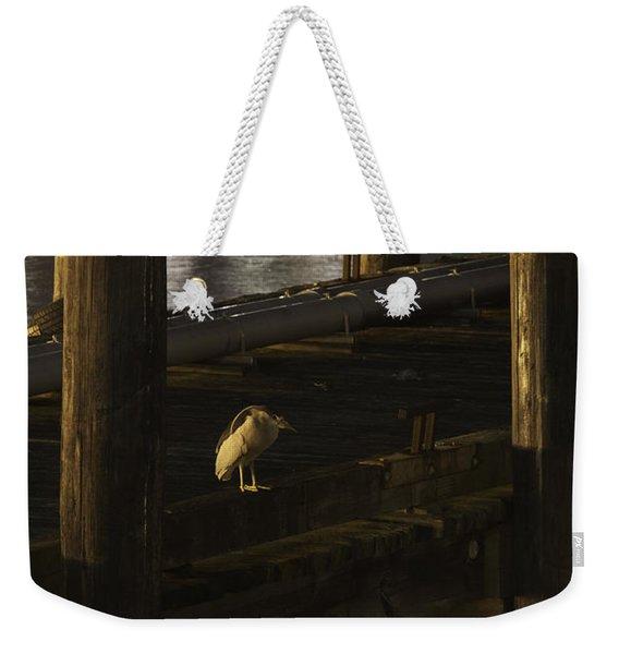 On The Dock Weekender Tote Bag