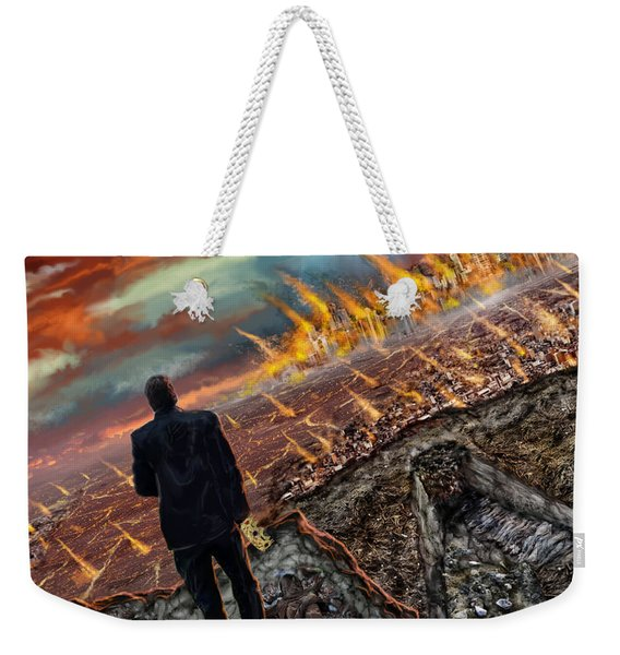 One Percent  Weekender Tote Bag