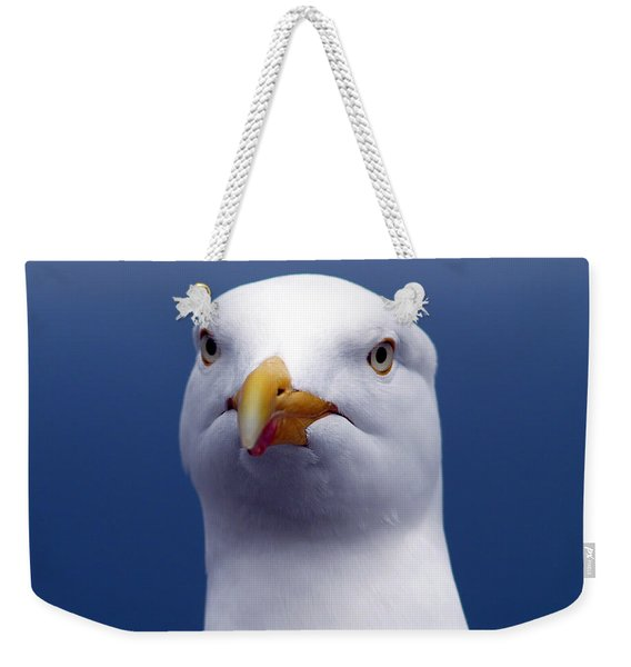 One Strange Bird Weekender Tote Bag