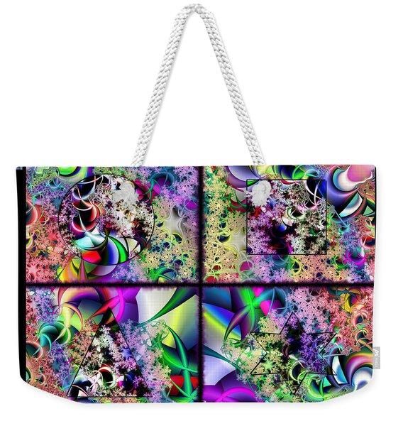 One Weirdass Design Weekender Tote Bag