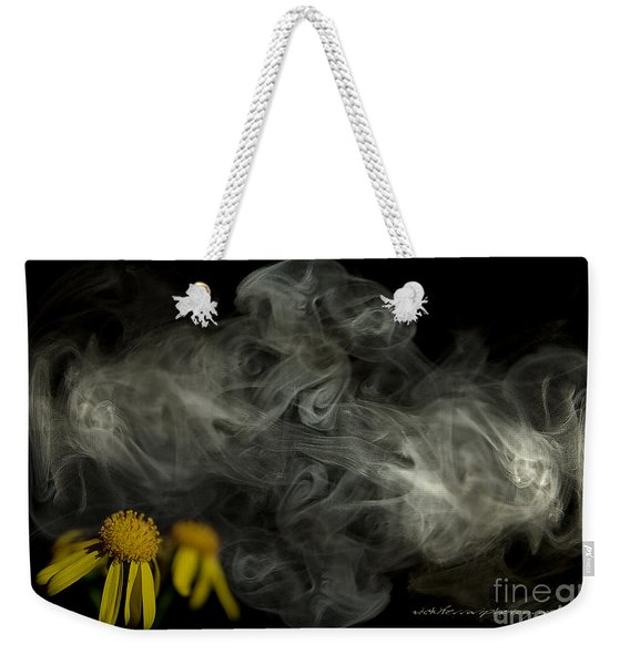 Optimisticly Dense Daisies Weekender Tote Bag