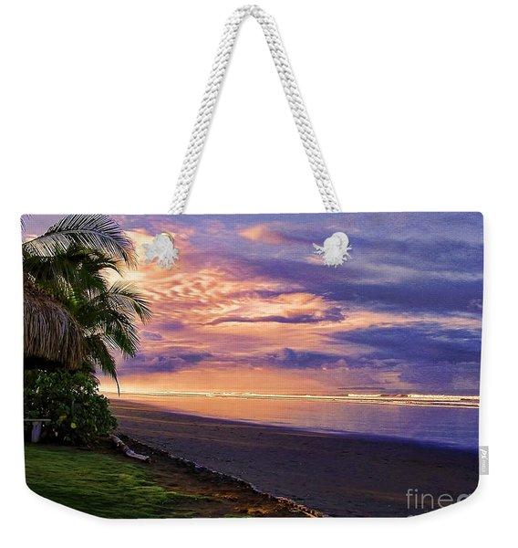 Pacific Sunrise Weekender Tote Bag