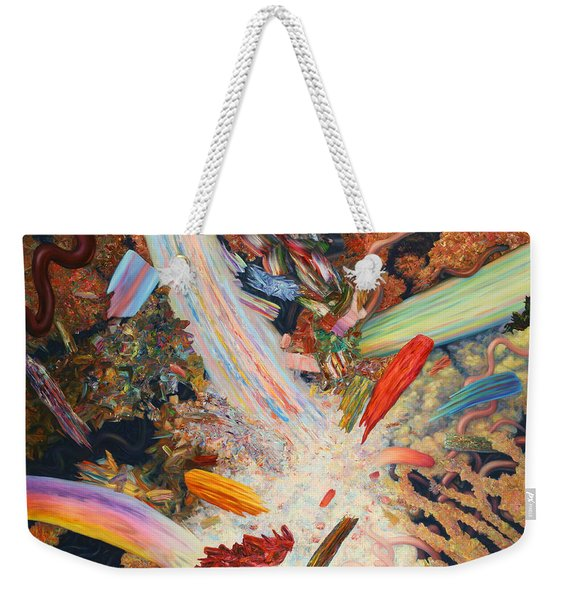 Paint Number 39 Weekender Tote Bag